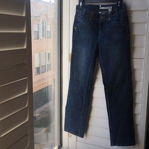 Blue denim DKNY stretch jeans